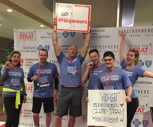 American Lung Association Fight for Air Tower Climb